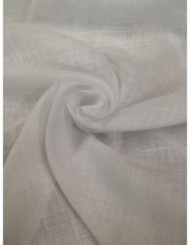 Tenda Jolie in misto lino bianco